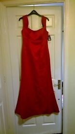 Red prom/bridesmaids dress