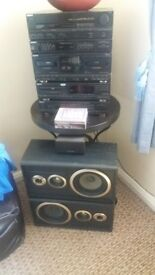 sony stacking system hi fi Remote