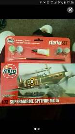 Supermarine spitfire model