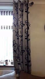 Two sets of Modern Curtains