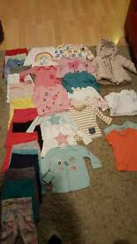 Baby clothes girls 6 to 9 months bundle