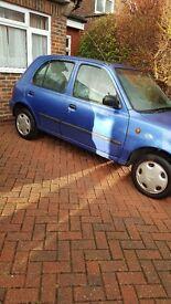 5 door sunroof cd radio mechanically well looked after pas cvt scrathes on passenger door. 1yr Mot