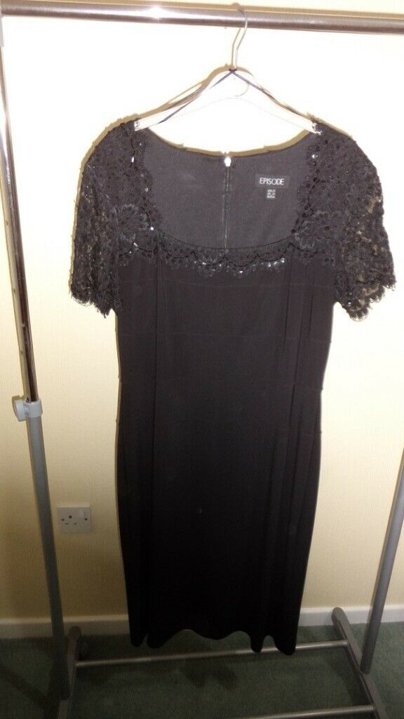 929791da6011 MUST GO ONLY £6. Lovely Black Cocktail Dress Size 16   in Langdon ...