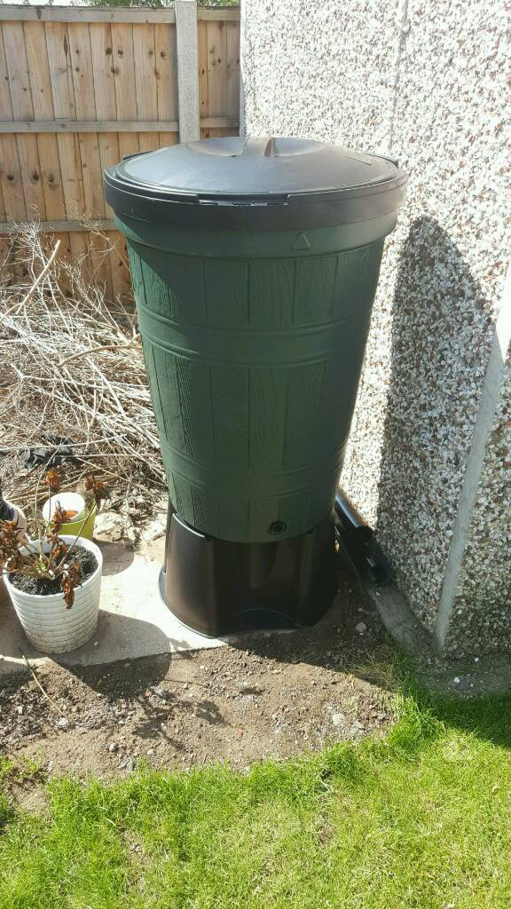 200L water buttsin Spondon, DerbyshireGumtree - 2 x 200l water butts. Water butt, stand, lid, tap and connecter. £22 each. Brand new. Selling as theyre too big for my garden
