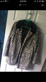 Winter oasis coat size medium