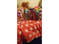 My little pony teddies and talking one