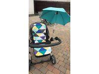 Mamas and Papas Zoom pushchair / buggy / pram