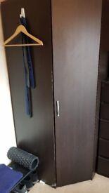 space saving wardrobe and drawers