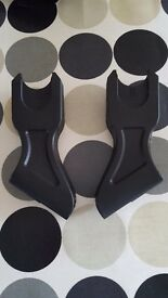 Phil & ted car seat adapters
