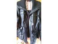 Leather look Jacket.