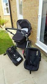 Mothercare roam 3 in 1 travel system