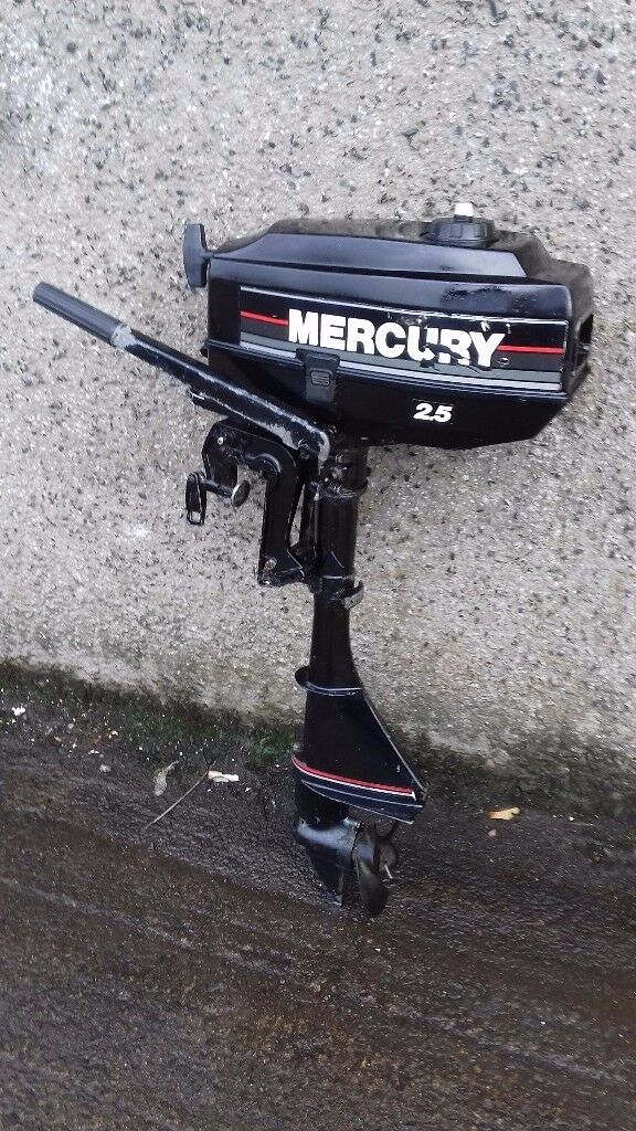 outboard engine Mercury 2.5