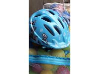 Specialized small fry toddler cycling helmet cats design