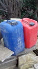 25litre diesel drums all clean only been used for diesel