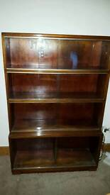 Vintage contemporary Minty bookcase /display unit
