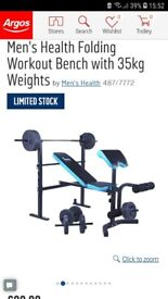 Mens health bench only for sale!!! Almost new!!!