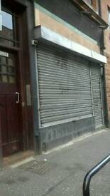 SHOP TO LET YOKER GLASGOW SUITABLE FOR MOST TRADES NO DEPOSIT