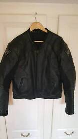 RK Leather Motorbike Jacket