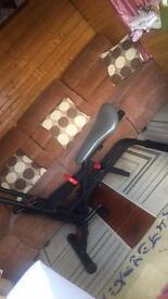 2 exercise machines