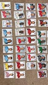 Stickers Russia 2018 swaps