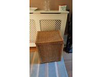 Free laundry basket to take away. seagrass. you can replace cotton liner