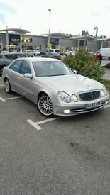 Mercedes E class 2.7 Diesel Avantgard (154miles)