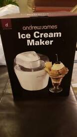 Andrew James Ice Cream Maker.