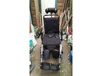 Pride Fusion electric wheelchair