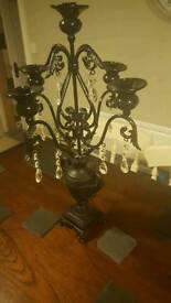 Beautiful chabby chic candelabra