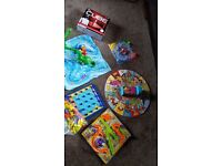 6 childrens board games - free - must be gone today - collection only