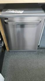 New graded Bush full size dishwasher with 12 months guarantee