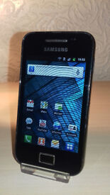 Samsung Galaxy Ace - Virgin - OK Condition + Charger
