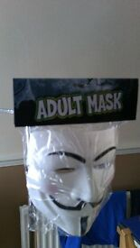 V for Vendetta adult Masks