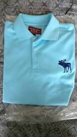 Mens Abercrombie Polo New L