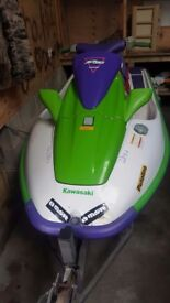 Kawaski jet ski zxi 900 swap for quad
