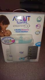 Avent 6 Bottle Electronic Steam Steriliser
