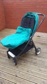 Armadillo Flip with Carry Cot in Teal