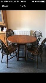 Foldable Dining Table and Chairs