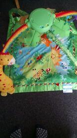 Baby jungle play mat