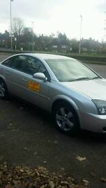 Gedling plated taxi vaxhall vectra