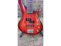 For Sale-Aria Bass guitar with two pickups.