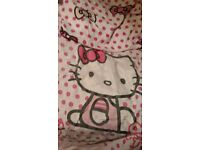 Hello kitty duvet set