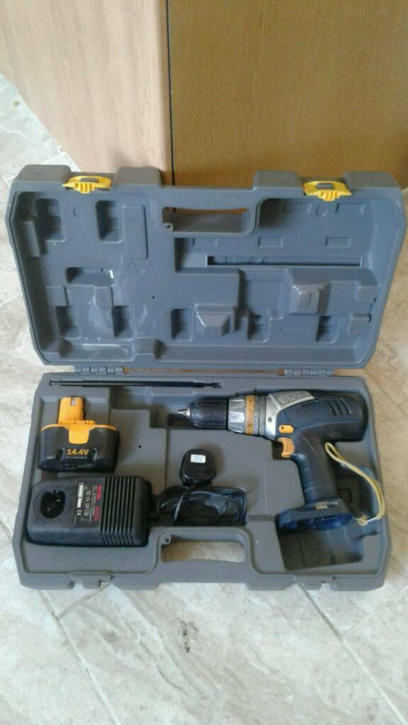 Ryoby cordless drill driver for only £20