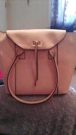 Light Peach coloured handbag