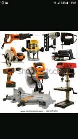 WANTED power tools Stihl, Hilti, Makita, Dewalt, Snap-On