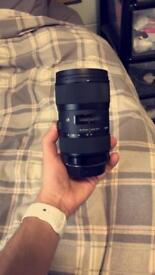 Sigma 18-35mm for rent