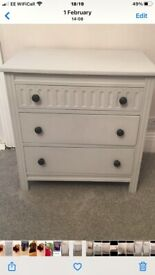 Chest of drawers for sale grey £20