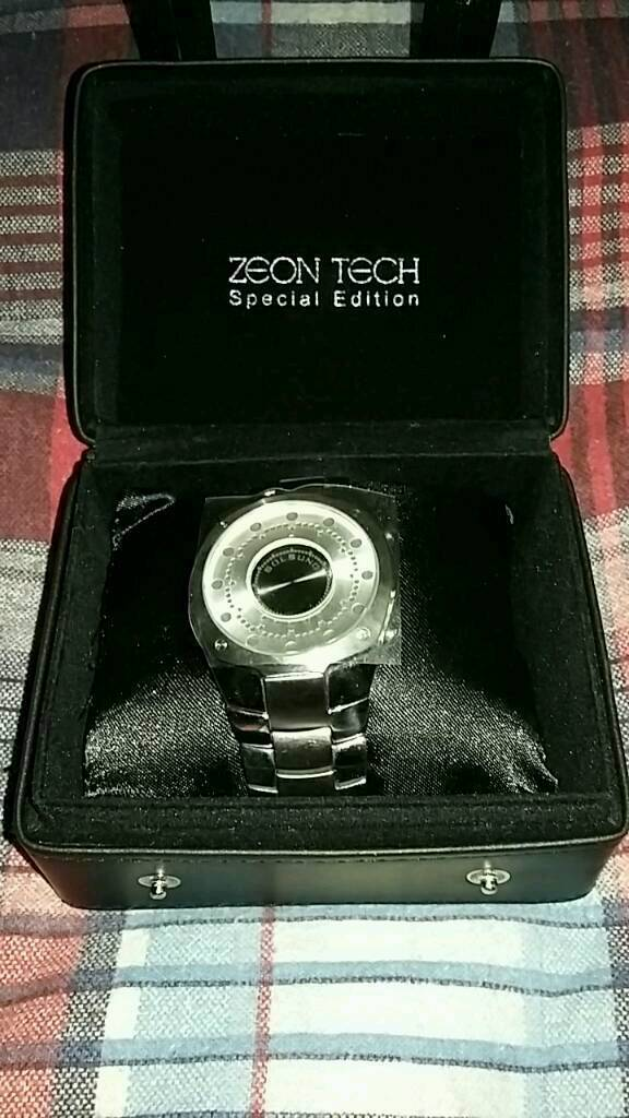 Zeon tech solsuno special edition LED watch
