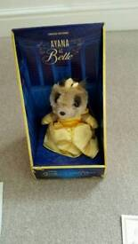 Ayana as Belle (beauty & the beast) meerkat £20