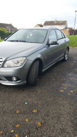 MERCEDES BENZ C200 BLUE-CY SPORT CDI AUTOMATIC, WITH PADDLE SHIFT ALSO